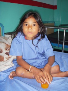Sushmita after her life saving operation